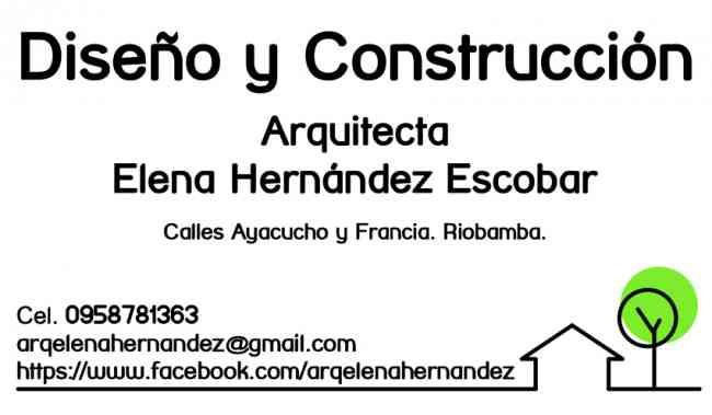 ARQUITECTO RIOBAMBA. DISEÑO Y CONSTRUCCIÓN.