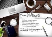 Franklin bonilla - contador auditor & servicios afines