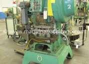 Troqueladora v&o 25 ton usada