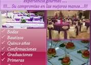 """Caterin eventos y banquetes """"aljordan"""""""