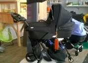 Stokke xplory v4 cochecito de bebé con cuna carry y asiento de coche