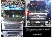 Transporte pesado para nivel nacional (encomiendas)quito - guayaquil