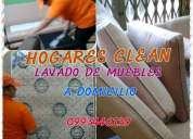 Hogares clean 0993446139 lavado de muebles, alfombras, sillas, partes internas de autos y mas  servi