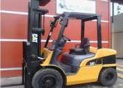 Vendo montacarga caterpillar 3 toneladas negociable