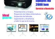 Alquiler de proyectores - infocus – pantallas – quito - 2800060