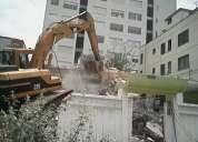 Demoliciones, derrocamientos, desalojos 0991809234