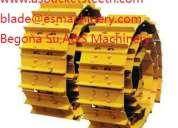 Cat piezas de tren de rodaje para excavadora bulldozer