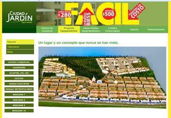 Conjunto residencial ciudad jardin pichincha capital for Ciudad jardin quito 2015