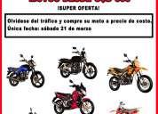 Venta de motos única fecha