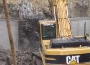 Excavaciónes,desbanques, derrocamientos , apertura de vías,zanjas