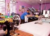 Doy servicio de estampados en textil y pvc.para talleres de confecciòn y pùblico en general