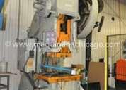 Troqueladora clearing  100 ton usada