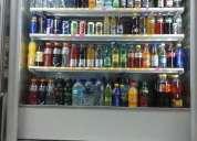 Eventa de xhibidor refrigerante manos libres para negocio de bebidas