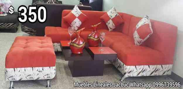 Vendo juegos de sala lineales a 350 guayaquil doplim Muebles de sala olx quito