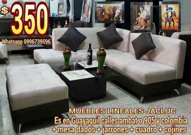 Vendo Juegos De Sala Lineales A 350 Guayaquil Doplim 532562