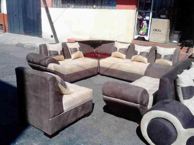 Venta De Muebles De Salas Lineal Nueva Modelo Canoa Quito Doplim