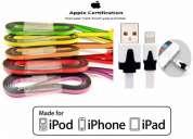 Cargador cable plano iphone 5 ipad mini