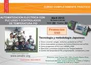 Curso de automatizacion electrica con plc logo y controlador de temperatura pid