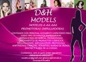 agencia de modelos, promotoras e impulsadoras.