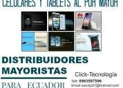 Celulares y tablets al por mayor