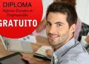 Diploma superior gratuito para los asistentes empresariales