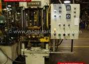 Prensa hidráulica stokes 75 ton usada