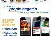 Páginas web profesionales impactantes para su negocio, local o empresa a $277 ¡aumente sus ventas!