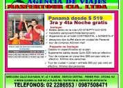 Panamá desde $ 519