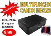 Impresora multifuncion canon mg2120 con sistema de tinta continua