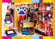 Vendo petshop tienda de mascotas de oportunidad por viaje!!!