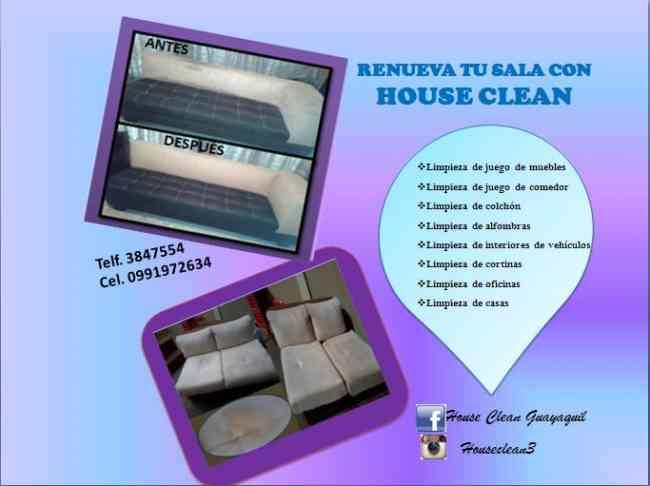 Lavado y limpieza de muebles, colchones,  alfombras 0991972634