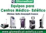 Glomedical estetica : equipos para centros esteticos en ecuador