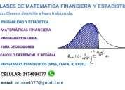 clases de matematicas y estadistica