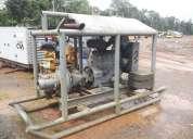 """Motobomba de agua 6"""", con motor deutz de 90hp, año 2010"""