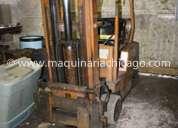 montacargas clark  3,600 lbs usado