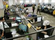 Se requiere personal para trabajo en call center no son ventas