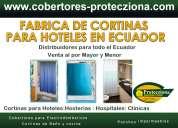 Fabrica de cortinas para hoteles,clinicas y hospitales en ecuador
