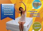 !!! literas colchones sofacamas almohadas !!! entrega gratis !!! el palacio del colchon !!!