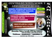 Centro de apoyo pedagogico san gabriel