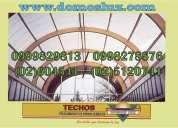 Techos domos luz pergolas,policarbonato,domos