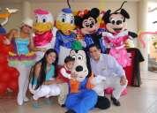 Animaciones de fiestas infantiles con los personajes de moda 042817784