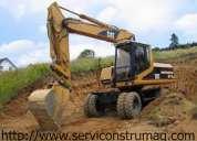 Alquiler de excavadoras, bobcat, volquetas 0999193805