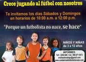 Escuela de fútbol eldorado