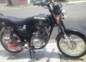 Vendo mi moto suzuki ax4 gd 110 año 2012