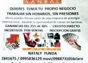 Yanbal empresa exitosa para ti mujer que quieres trabajar sin horarios sin jefes 0995836129