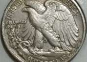 Monedas americanas antiguas de coleccio
