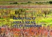 Terrenos industriales de venta en calacali