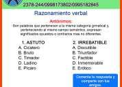 Curso ineval-senescyt tumbaco,cumbaya-clases particulares-nivelaciones-cursos-preuniversitario