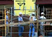 Albañilería realizo trabajos