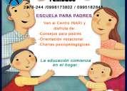 Escuela para padres-neurociencia-charlas pedagÓgicas-pnl-orientaciÓn vocacional-psicologÍa
